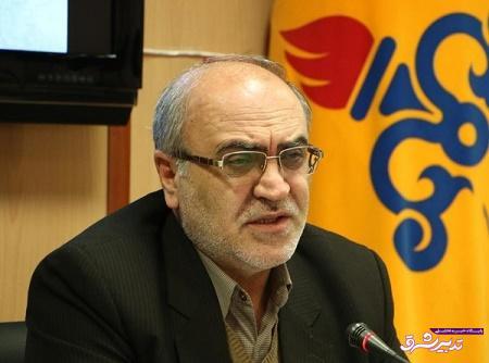 شبکه گاز استان گیلان