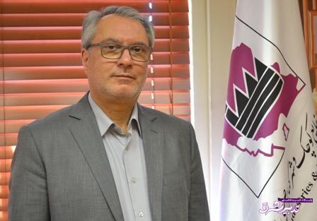 احمد علی شهیدی مدیرعامل شرکت شهرک های صنعتی گیلان