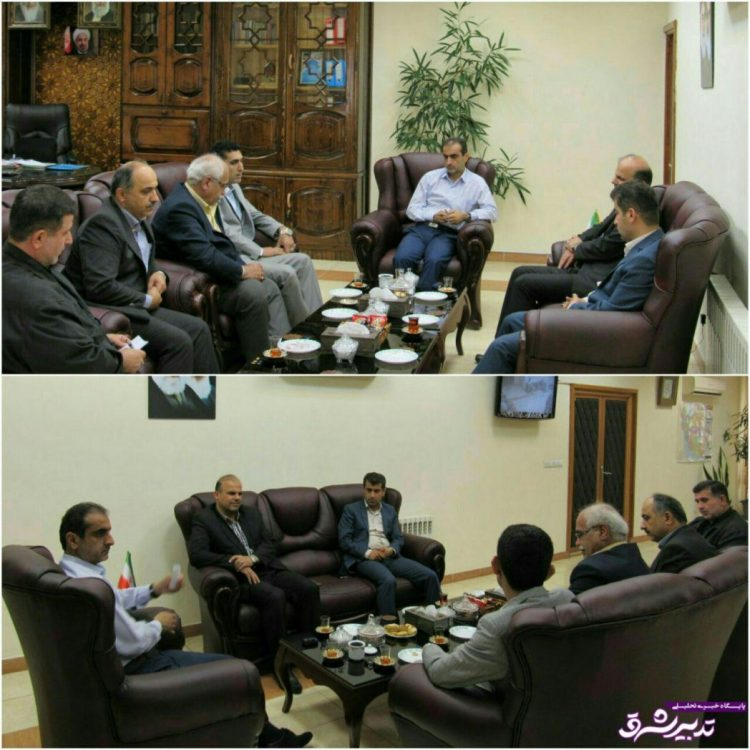 شورای شهر لاهیجان فرماندار لاهیجان