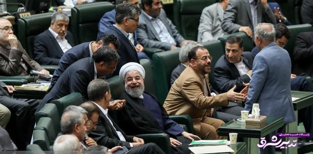 تصویر از مجلس برای روحانی سنگ تمام گذاشت/ «بیطرف» از کابینه دوازدهم جا ماند