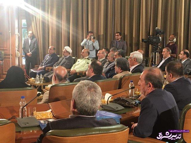 مراسم تحلیف پنجمین دوره شورای اسلامی