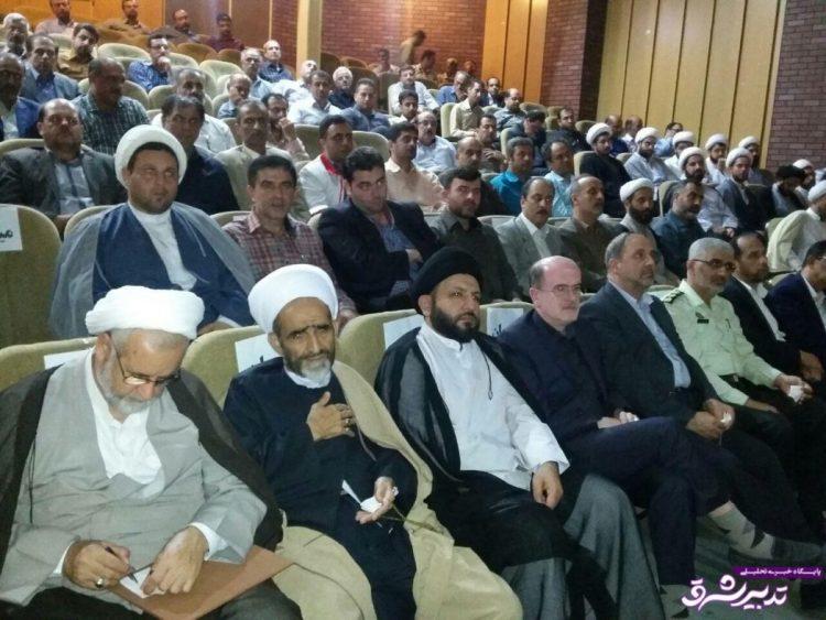 مشروح جلسه تودیع و معارفه امام جمعه شهر لنگرود