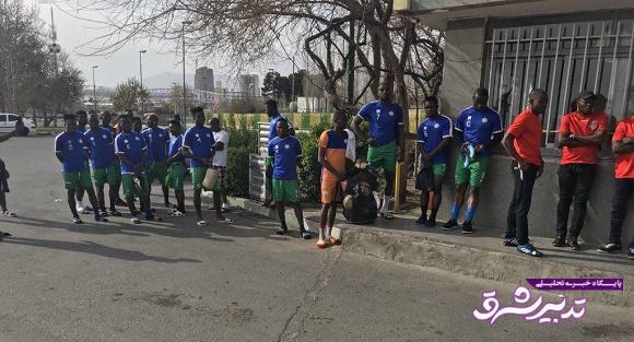 تهدید بازیکنان سیرالئون