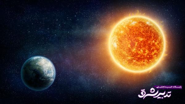 تغییر شکل مدار زمین