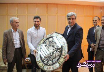 تصویر از تقدیر استاندار گیلان از ملی پوش گیلانی