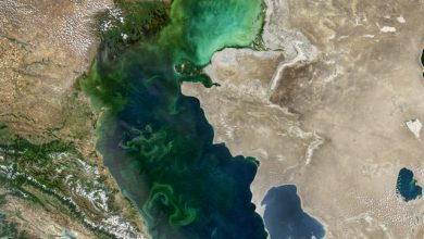 طرح انتقال آب دریای خزر