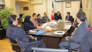 جلسه کمیته درآمدی شهرداری رشت