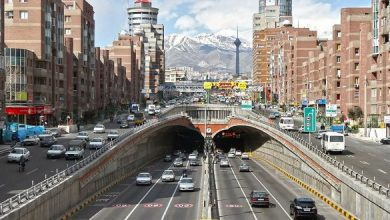 پولی کردن تونل های تهران