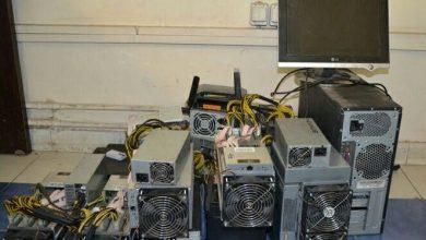 تصویر از کشف دستگاه های استخراج ارز دیجیتال در لاهیجان