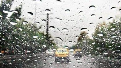 بارش ۴۴ میلیمتری